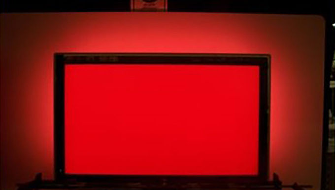Philips ambilight red
