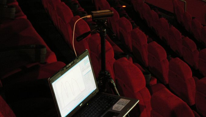 Measurement in a cinema